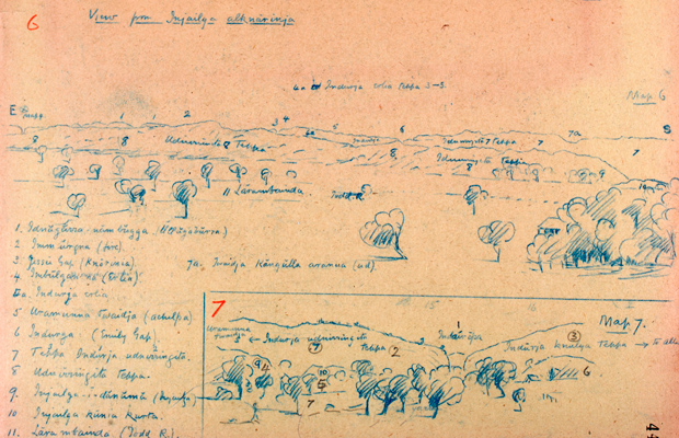 'Notes Alice Springs 1926', Baldwin Spencer Collection, Museum Victoria