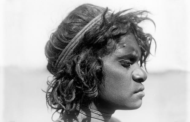 'Young Warumungu woman, Tennant Creek, Central Australia, 1901', Spencer and Gillen Collection, Museum Victoria