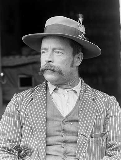 Francis James Gillen in Alice Springs, 1901