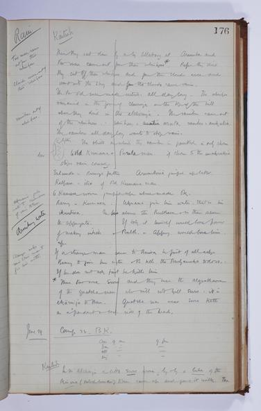 Journal (1) Spencer Gillen Expedition to Central Australia